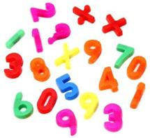 Окремі співвідношення між числами. Ілюстрація