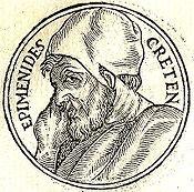 Эпименид — легендарный греческий поэт