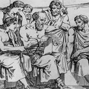 Древние греческие мыслители. Иллюстрация