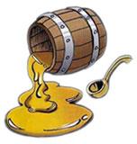 Ложка дегтя портит бочку меда